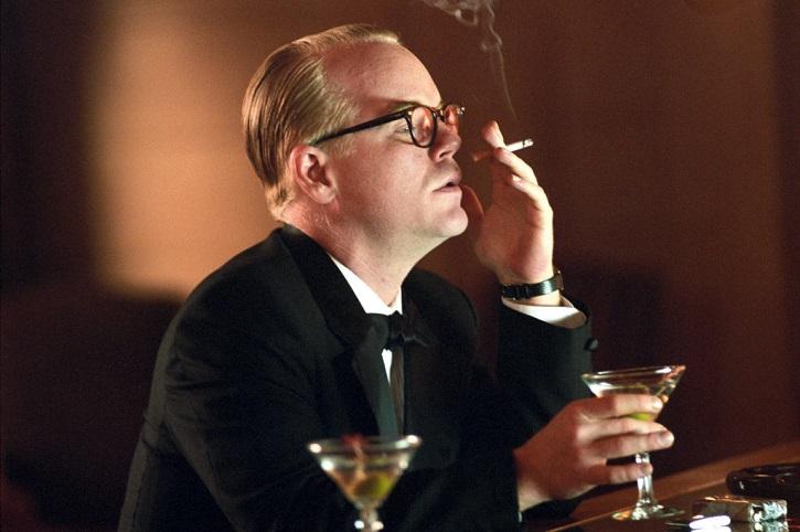 El actor neoyorkino Philip Seymour Hoffman, se come la pantalla en cada escena de Capote
