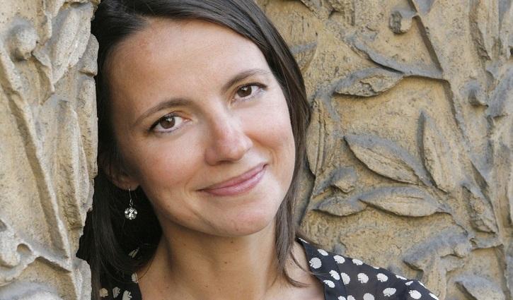 Anne-Dauphine Julliand, escritora y directora debutante en el cine con el filme Ganar al viento