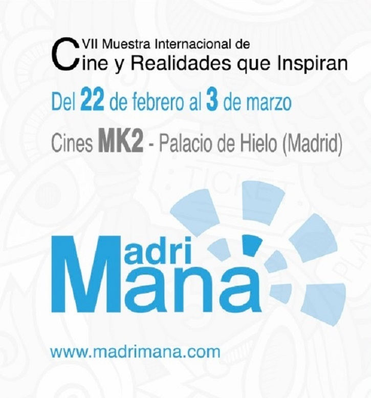 Cartel de la VII edición de Madrimaná, Muestra Internacional de Cine y Realidades que Inspiran
