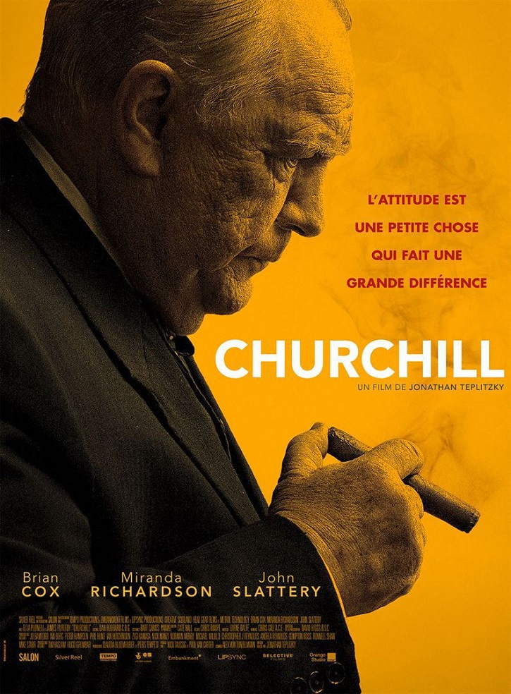Cartel de Churchill, con Brian Cox
