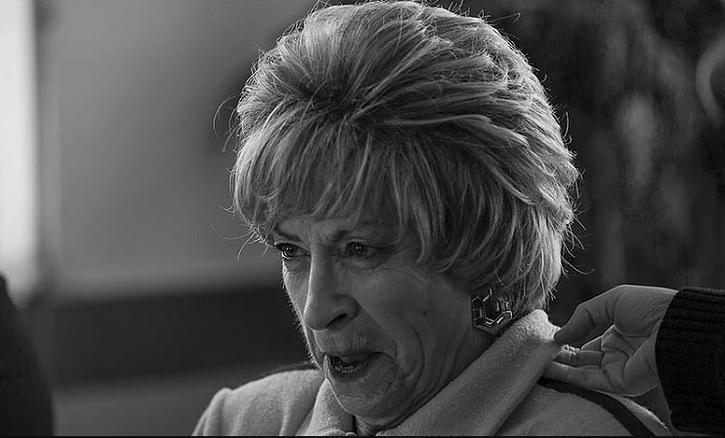 La laureada actriz Milagros Morón en uno de sus trabajos interpretativos