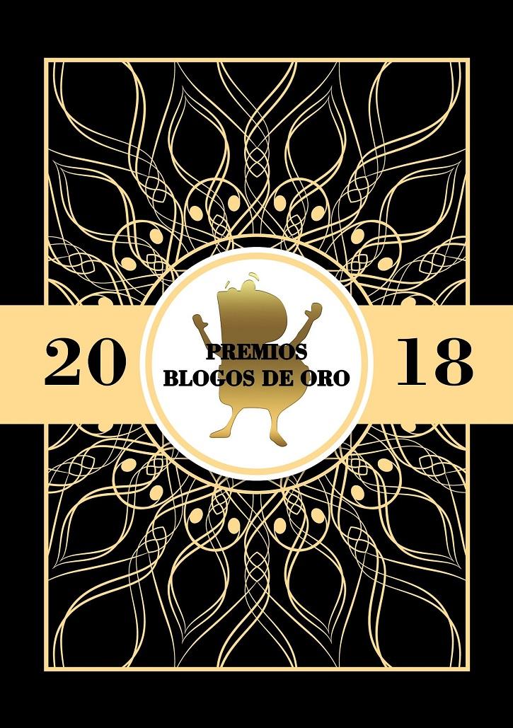 Logo de los premios Blogos de Oro 2018