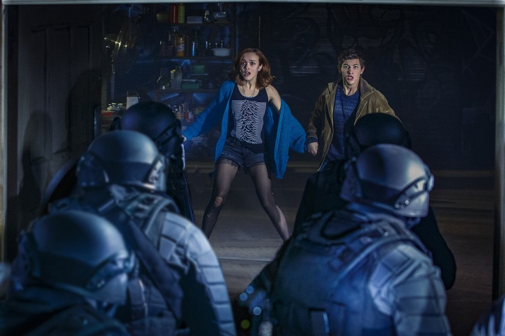 Fotograma del filme de Steven Spielberg, Ready Player One