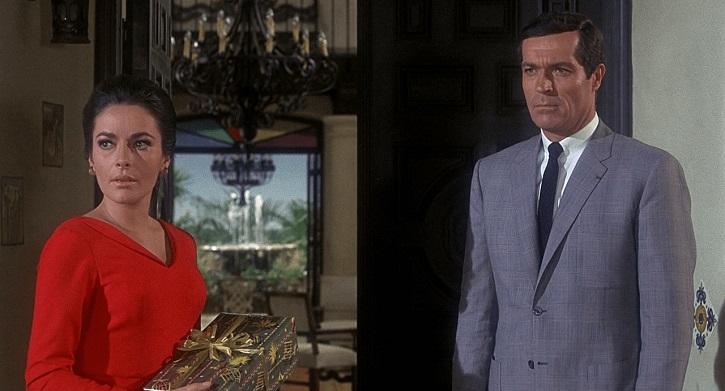 Fotograma del filme de Alfred Hitchcock, Topaz, 1969