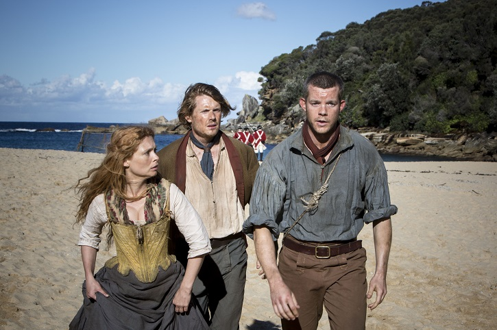 Picture shows: Episode 3. Elizabeth Barrett (MYANNA BURING), Tommy Barrett (JULIAN RHIND-TUTT) and James Freeman (RUSSELL TOVEY)