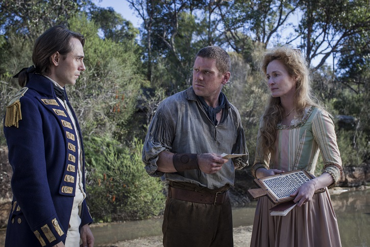 Picture shows: Episode 6. (L-R) Captain David Collins (DAVID DAWSON), Stubbins (DAVID WALMSLEY) and Mary Johnson (GENEVIEVE O'REILLY)
