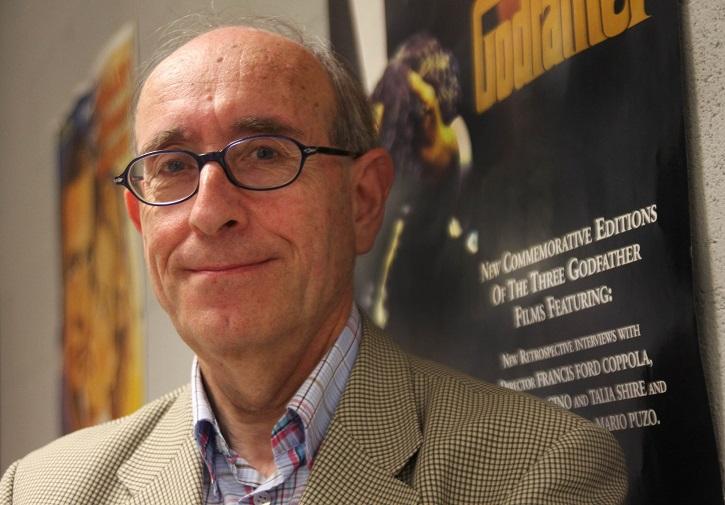 El afamado José María Caparros Lera, crítico de cine e historiador, uno de los autores de Las películas que vio Franco (y que no todos pudieron disfrutar)