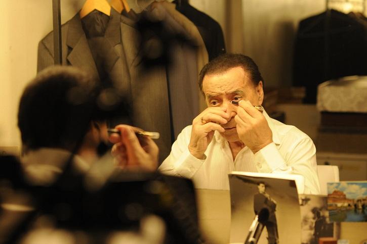 Juan Carlos Copes, en un fotograma del filme Un tango más, de Germán Kral