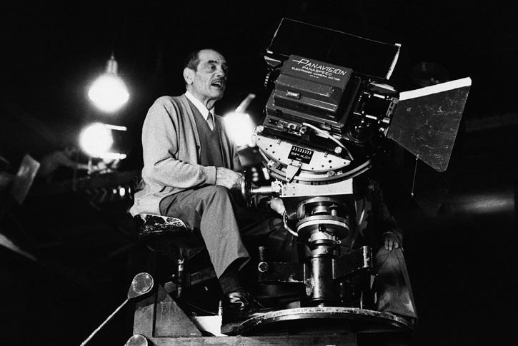 El director de cine Luis Buñuel.