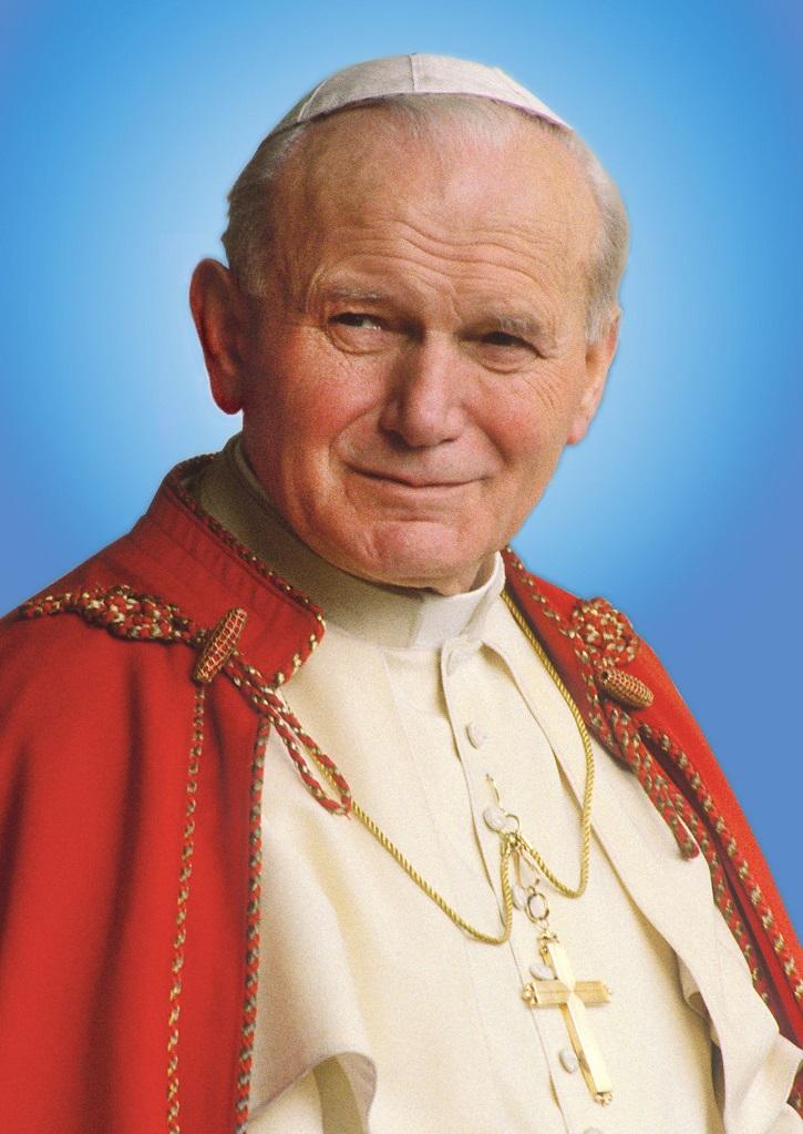 El Papa San Juan Pablo II, en una imagen institucional
