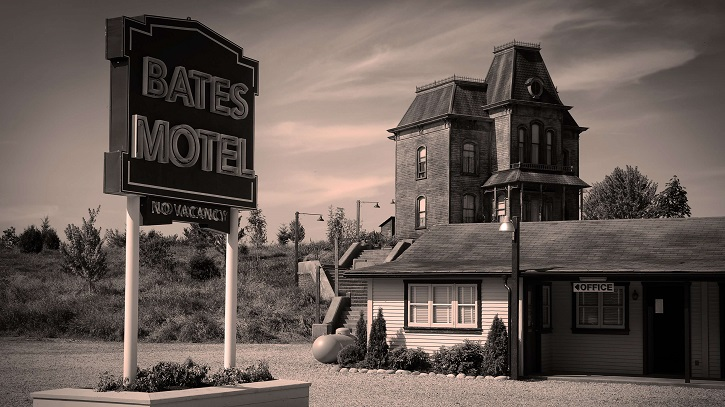 Parada obligada en el Motel Bates. Psicosis, de Alfred Hitchcock