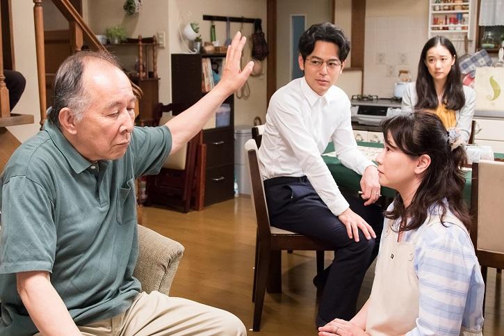 Fotograma del filme japonés, Verano de una familia de Tokio, de Yoji Yamada