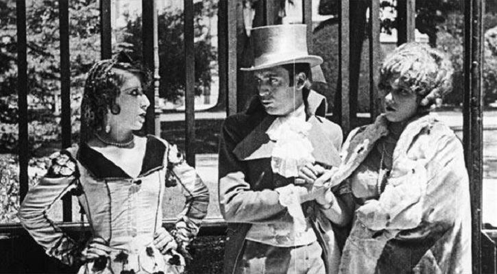 Fotograma del filme mudo Dos de mayo, de José Buchs. 2 de mayo de 1808 en el cine
