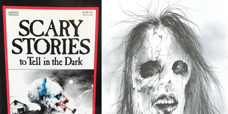 Portada del libro Scary Stories to Tell in the Dark, que producirá Guillermo del Toro