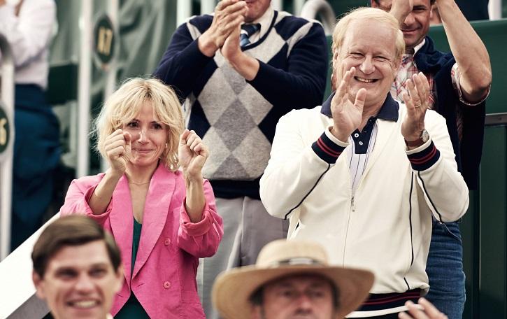 Stellan Skarsgård junto a Tuva Novotny en Borg vs McEnroe: Janus Metz tensa la leyenda de Wimbledon