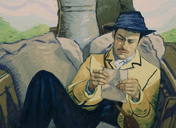 Fotograma del elaborado filme Loving Vincent, que versa sobre la vida del pintor holandés Van Gogh | Loving Vincent en Blu-Ray y DVD gracias a Karma Films