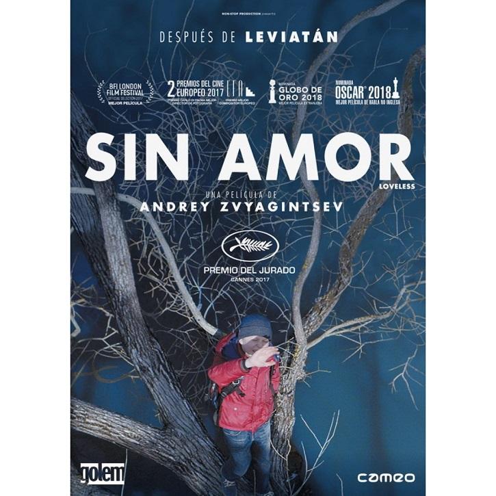 Cartel promcional del filme Sin amor (Loveless) de Andrey Zvyagintsev | Cameo lanza 'Sin amor' y 'Jeannette, la infancia de Juana de Arco'
