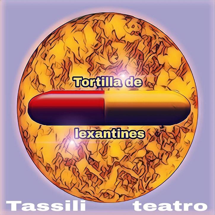 Cartel promocional de Tortilla de lexatines, libreto original de Euloxio Fernández | Euloxio Fernández en I Certamen Microteatro 'Lo tuyo es puro teatro'