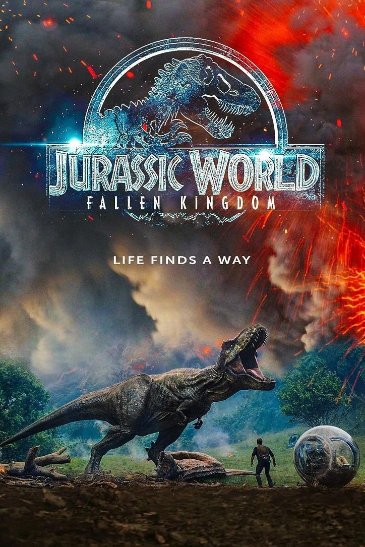 Cartel promocional del filme Jurassic World: el reino caído | 'Jurassic World: el reino caído': el monstruo de Bayona convence