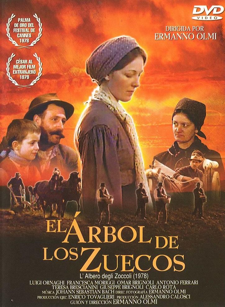 Cartel promocional de El árbol de los zuecos, película dirigida por Ermanno Olmi | Ermanno Olmi, el hombre de la fe a bocajarro