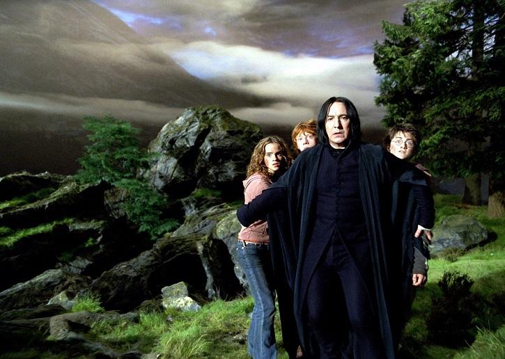 Poderoso fotograma con Alan Rickman | Harry Potter y el Prisionero de Azkabán