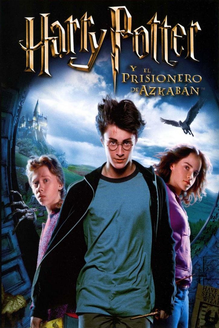 Cartel del filme Harry Potter y el Prisionero de Azkabán, dirigido por el oscarizado Alfonso Cuarón | Harry Potter y el Prisionero de Azkabán