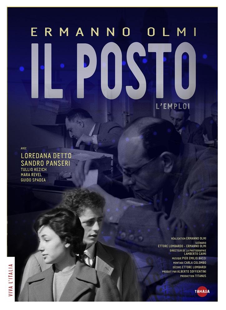 Cartel promocional de Il posto, película dirigida por Ermanno Olmi | Ermanno Olmi, el hombre de la fe a bocajarro