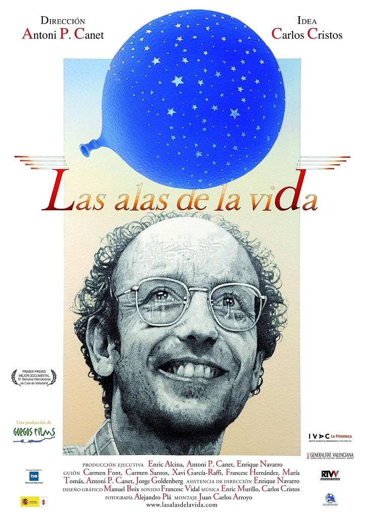 Cartel promocional del documental español Las alas de la vida | La eutanasia de Sánchez reaviva el debate en el cine