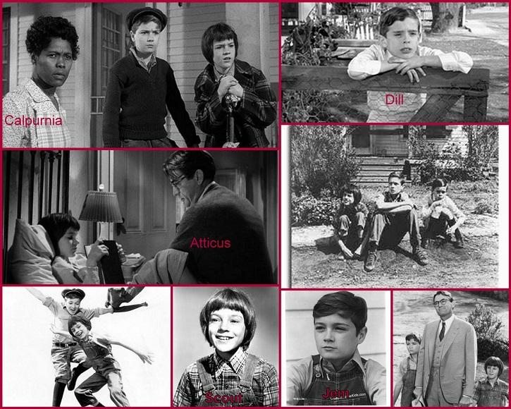 Mosaico de imágenes del filme Matar a un ruiseñor | Matar a un ruiseñor, de Harper Lee, escandaliza a Broadway