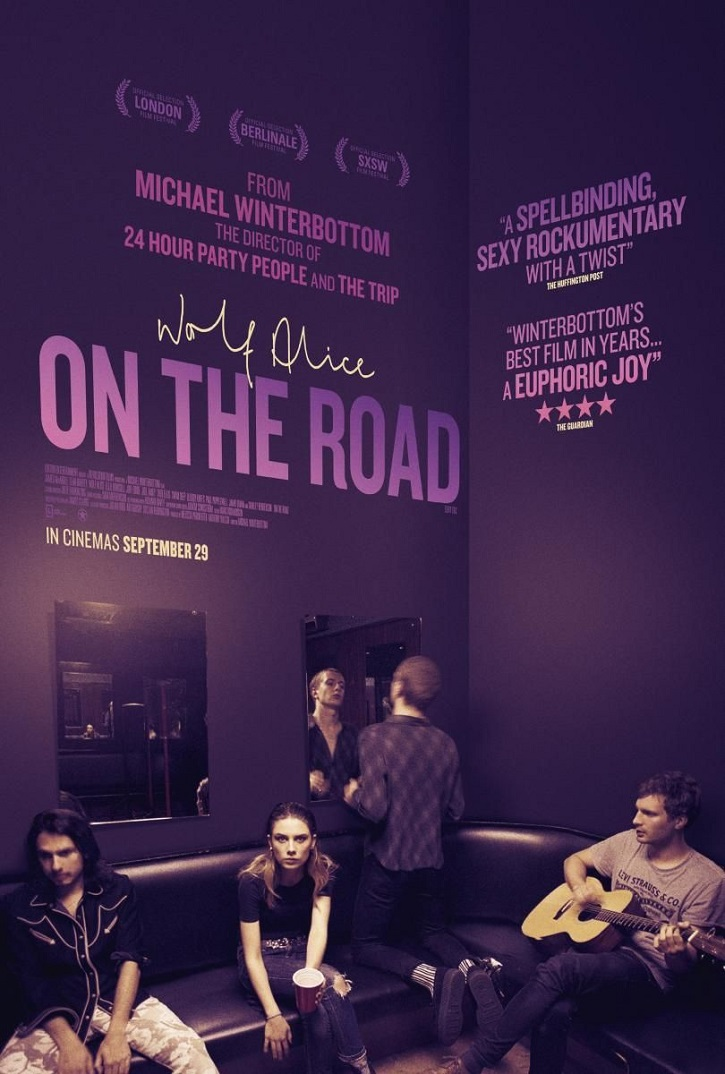 Cartel del filme On the road, del prolífico director británico Michael Winterbottom | Michael Winterbottom en la programación online de Atlàntida Film Fest