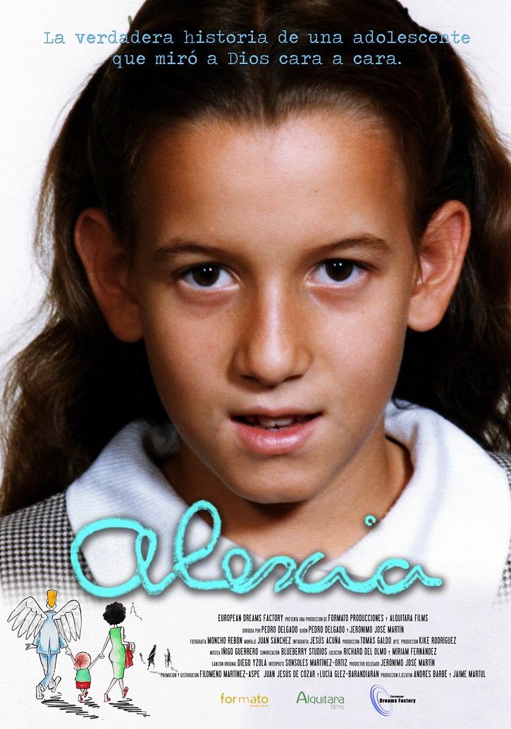 Cartel promocional del filme Alexia | ¿Volverá al cine 'Alexia', el documental de Pedro Delgado Cavilla?