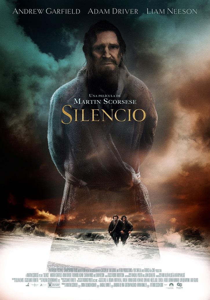 Cartel promocional del filme Silencio | Martin Scorsese defiende la persecución de los cristianos con 'Silencio'