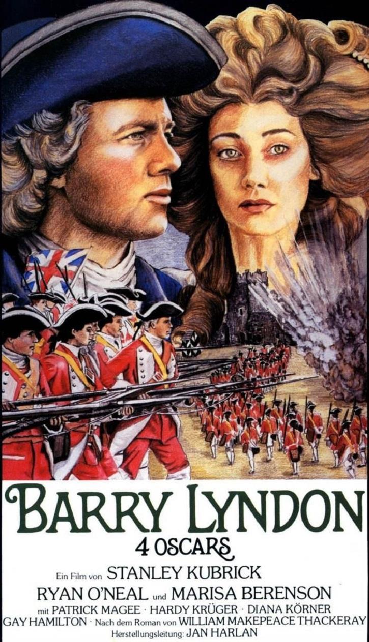 Cartel promocional de Barry Lyndon | Kubrick revela el enigma de '2001: Una odisea en el espacio'