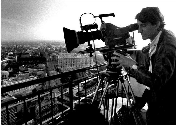 Basilio Martín Patino durante el rodaje de Madrid   El Reina Sofía proyecta un ciclo de cine sobre Lavapiés