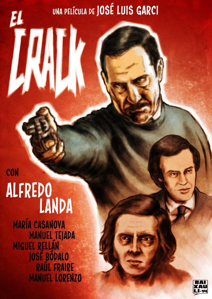 Cartel promocional del filme El Crack | Garci regresa al cine con la precuela de 'El Crack'