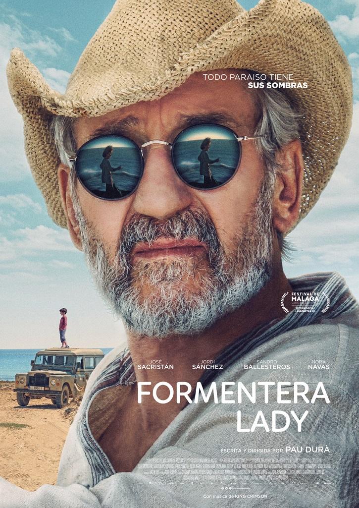 Cartel promocional del filme Formentera Lady | 'Formentera Lady': Pau Durà debuta con un José Sacristán hippie