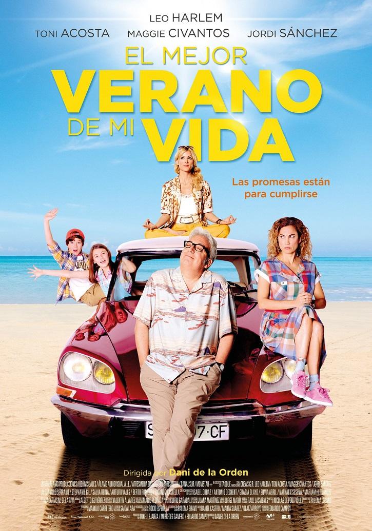 Cartel promocional del filme El mejor verano de mi vida | 'El mejor verano de mi vida': impecable Leo Harlem