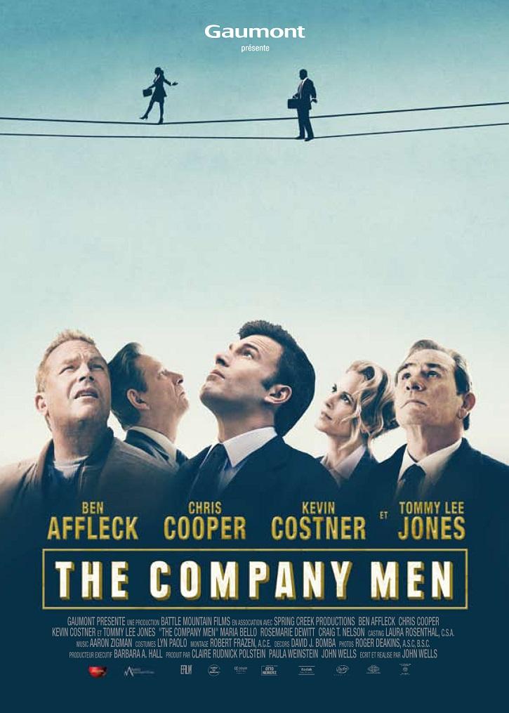 Cartel promocional del filme The company man | ¿Por qué el cine se apunta a la ética económica?