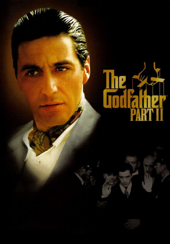 Cartel promocional del filme Godfather II | Linda Seger publica 'El secreto del mejor cine' en Rialp
