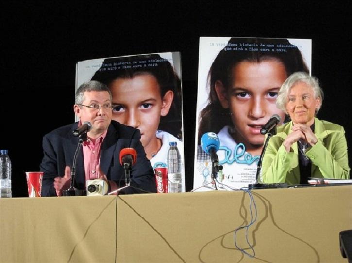 Pedro Delgado y Ninfa Watt | ¿Volverá al cine 'Alexia', el documental de Pedro Delgado Cavilla?