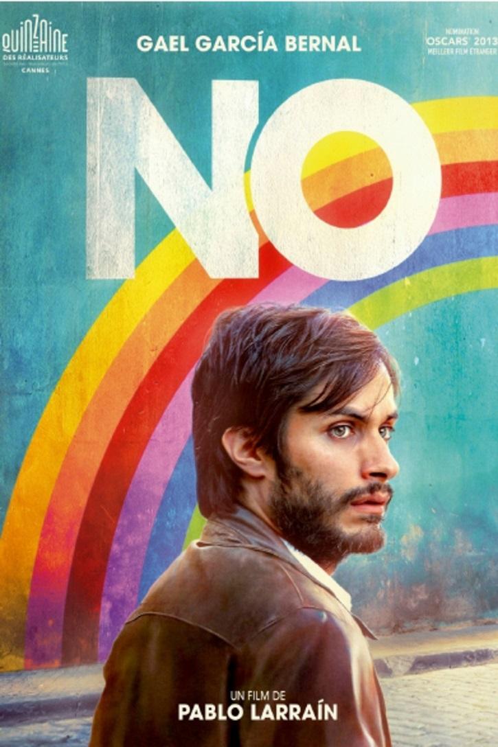 Cartel promocional del filme No | Gael García Bernal protagonizará 'Ema' que dirigirá Pablo Larraín