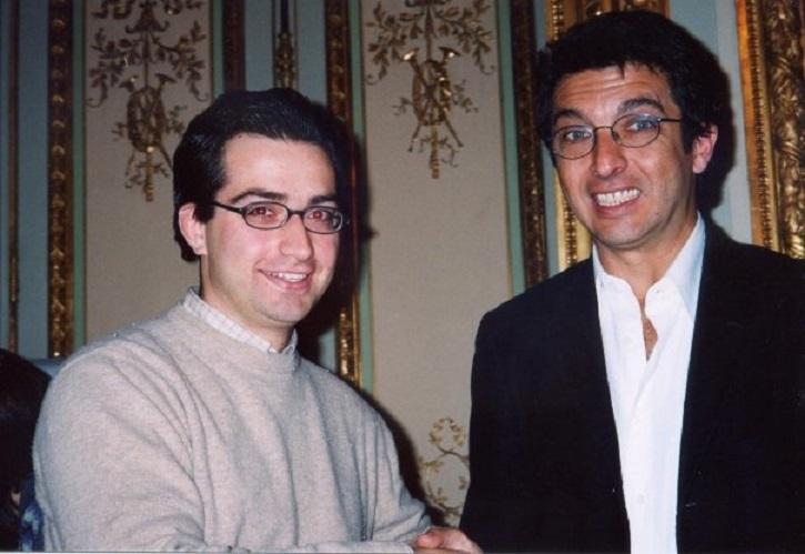 Ricardo Darín y José Luis Panero, tras una entrevista en la Casa de América, en Madrid | Ricardo Darín protagonizará '1985', thriller inspirado en la dictadura argentina