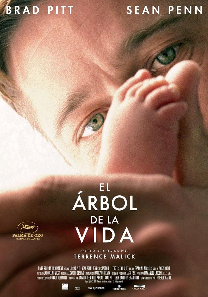 Cartel promocional del filme de Terrence Malick, El árbol de la vida | Nueva versión de 'El árbol de la vida' en 4k