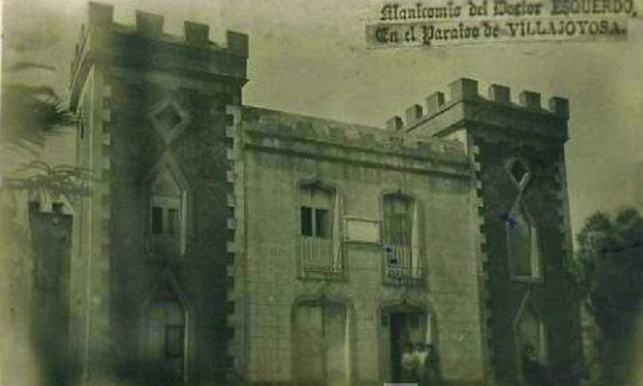 Imagen del manicomio en El Paraíso en 1931 | El doctor Esquerdo liberaba a pacientes con estrés haciendo teatro