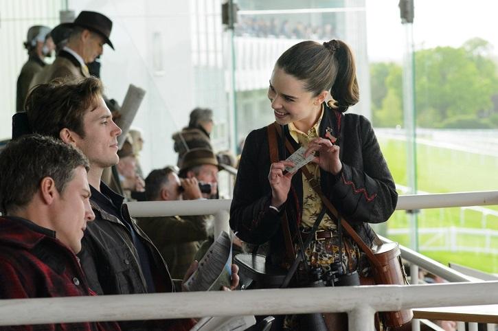 Emilia Clarke y Sam Claflin en otro momento divertido del filme | Telecinco emite 'Antes de ti', propaganda nítida sobre la eutanasia