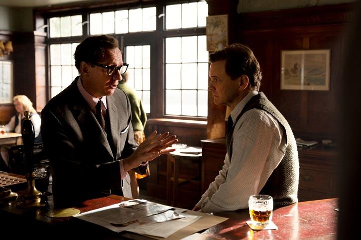 Colin Firth y David Thewils | 'Un océano entre nosotros': Fallido biopic, incluso con Colin Firth