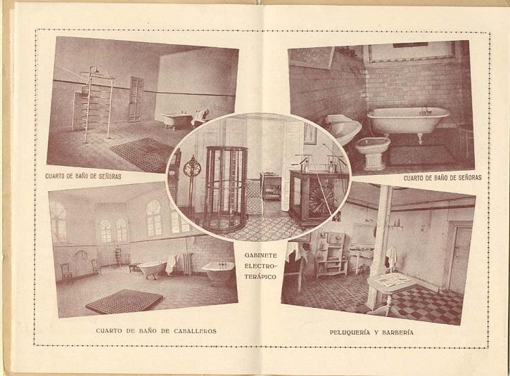 Imágenes del interior del Sanatorio Esquerdo | El doctor Esquerdo liberaba a pacientes con estrés haciendo teatro
