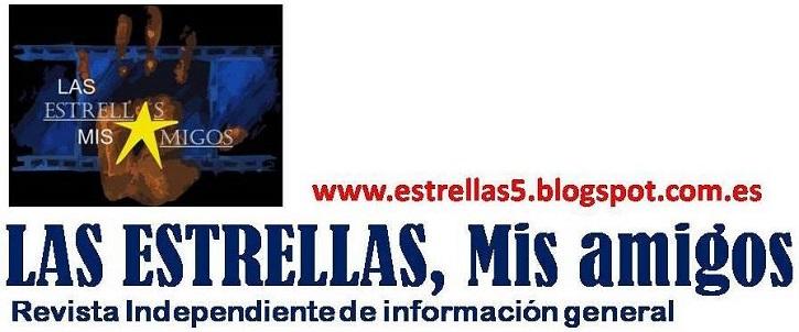 Logo de la web de Javier García, de quien es director general | Javier García presenta 'Las Estrellas, mis amigos' en Collado Villalba