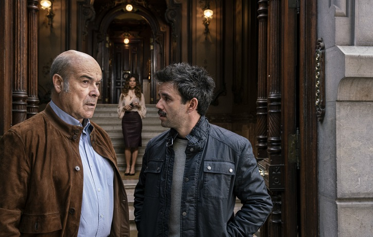 Antonio Resines y Raúl Peña en Ola de crímenes | 'Ola de crímenes': Gracia Querejeta se estrella con la comedia