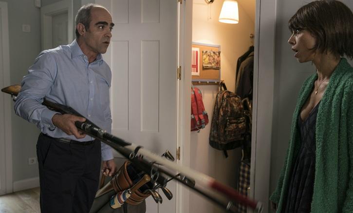 Luis Tosar y Maribel Verdú en Ola de crímenes | 'Ola de crímenes': Gracia Querejeta se estrella con la comedia